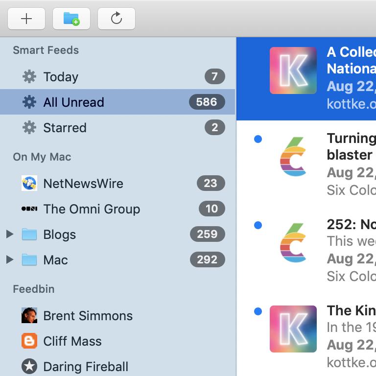 Netnewswire Open Source Rss Reader For Mac